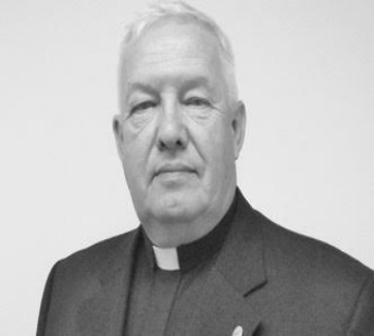 Reverend Frank Beasley at The Prince of Peace Church